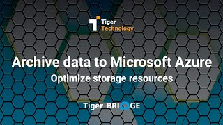 How to Archive Data to Microsoft Azure