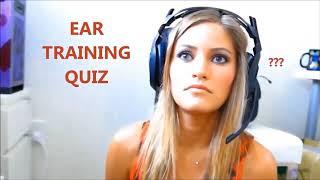 Ear Training Quiz Fri 02 Feb 2018