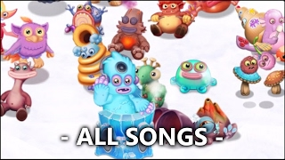 All Baby Monsters on Island Sound/Songs #1 - Deedge + Sneyser | My Singing Monsters: Dawn of Fire