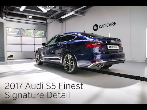 High End Detailing 2017 Audi S5 Sportback Finest New Car Detail