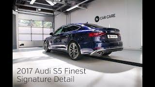 High End Detailing 2017 Audi S5 Sportback Finest New Car Detail