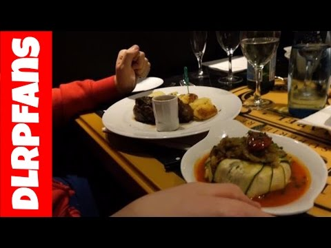 Menu Gusteau at Bistro Chez Remy Disneyland Paris