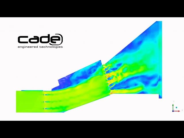 Análisis CFD de calderas de recuperación de calor de plantas HRSG