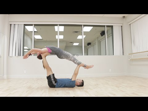 Beginner Acro Yoga: High Flying Whale