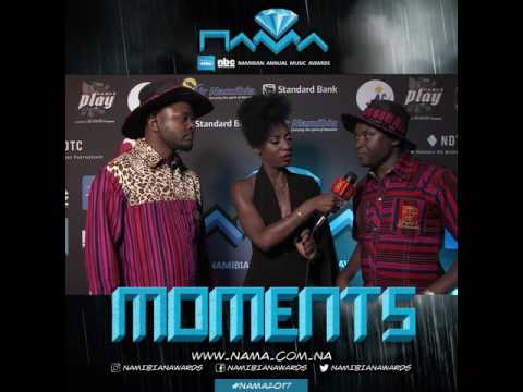Christmas and Kamati on our Friday Blue Carpet