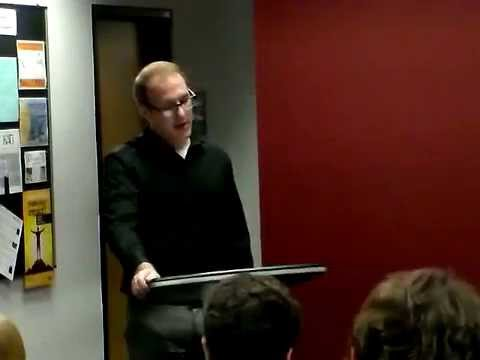 Donovan Irven, Address to Barrett, the Honors College at ASU West campus