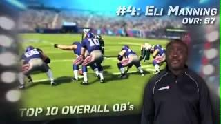 Madden NFL 13 - Top 10 Quarterbacks