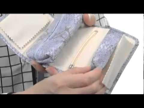 Mele Lela Faux Leather Travel Jewelry Wallet  SKU:#8163710