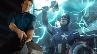 HOW CAPTAIN AMERICA COULD LIFT THORS HAMMER MJOLNIR IN AVENGERS ENDGAME CONFIRMED BY RUSSO BROTHERS