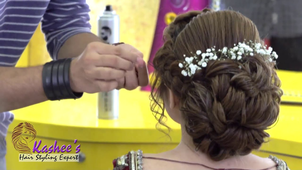 Hair Styling By Kashif Aslam Youtube
