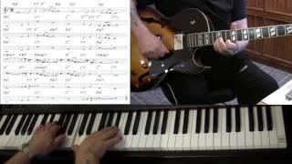 Cherokee - Jazz guitar & piano cover ( Ray Noble ) Yvan Jacques