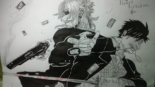 Speed drawing - Nicolas  & Worick - Gangsta