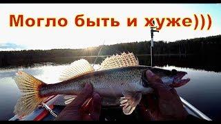 Как дела в Десногорске.  Рыбалка на спиннинг с лодки, джиг, воблер ..