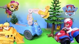 PAW PATROL Nickelodeon Paw Patrol Buzzsaw Tree Hugger Toys Video Parody