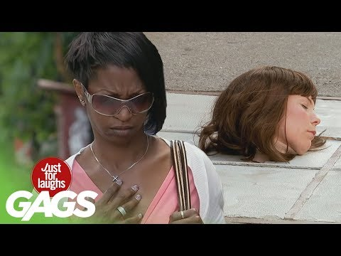 SCARIEST Severed Head Pranks - Best of Just For Laughs Gags