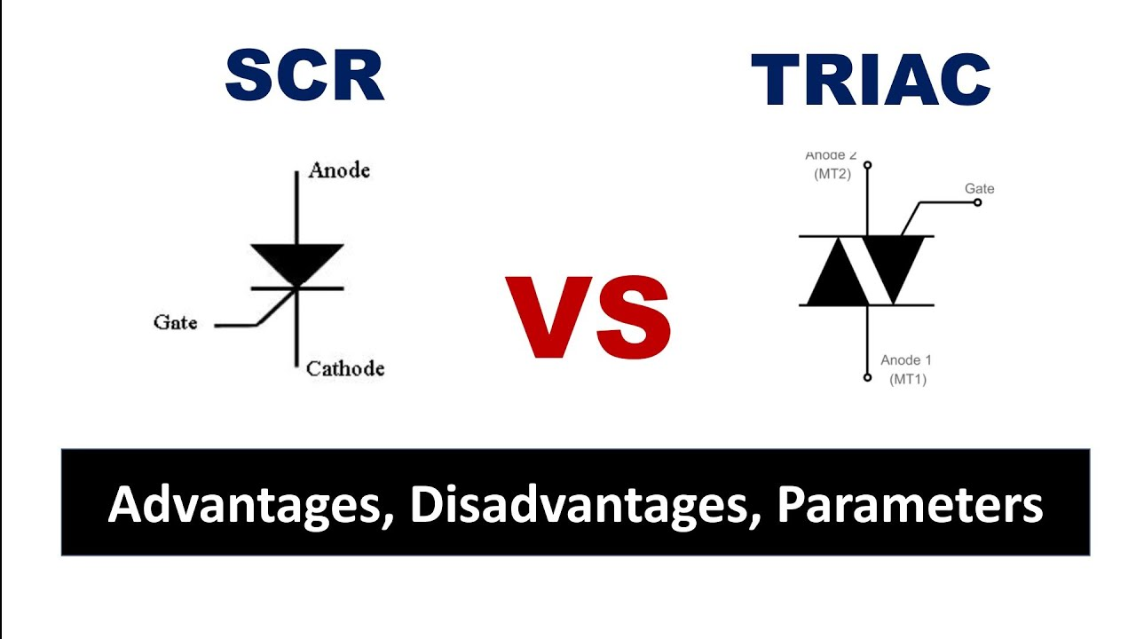 SCR vs TRIAC - In Tamil - EFU