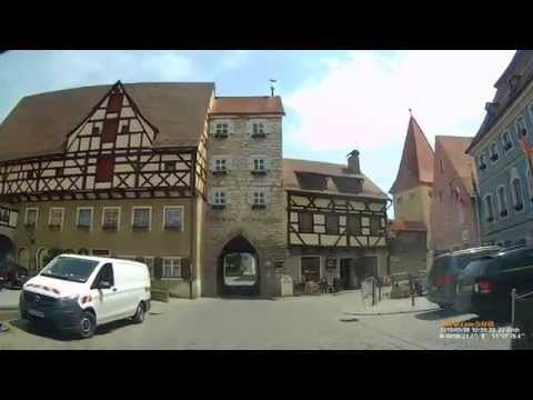 D: Stadt Berching. Landkreis Neumarkt i.d.OPf. Stadtrundfahrt. Mai 2015