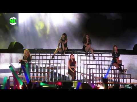 2015 4Minute Fan Bash Live Concert In Yangon
