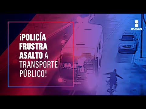 ¡Se subió al transporte público para asaltar pero una de sus víctimas era policía! | Francisco Zea