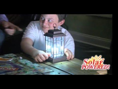 Liberty Lantern Commercial Liberty Lantern As Seen On TV Solar Powered LED Lantern Mobile Device