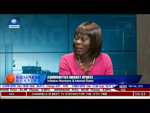 Analyst Projects 14%-15% As Average Inflation For 2018 |Business Morning|