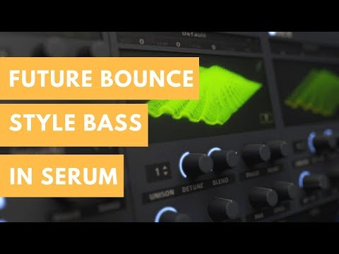 Mike Williams - The Beat Remake Bass | How To Future Bounce Bass In Serum