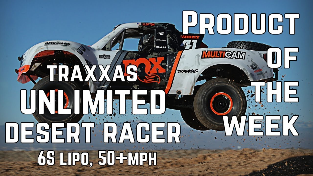 Traxxas Unlimited Desert Racer 4WD - 85076-4 - Product Of The Week