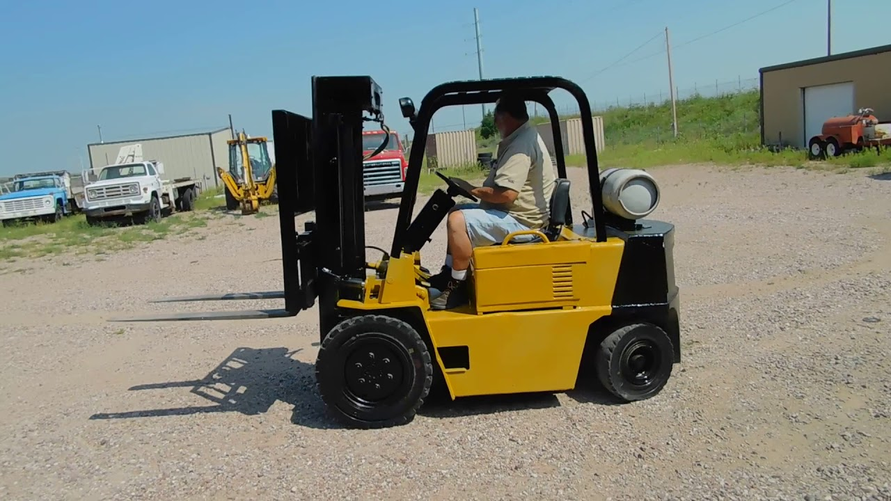 Caterpillar V50D Forklift BigIron Auctions