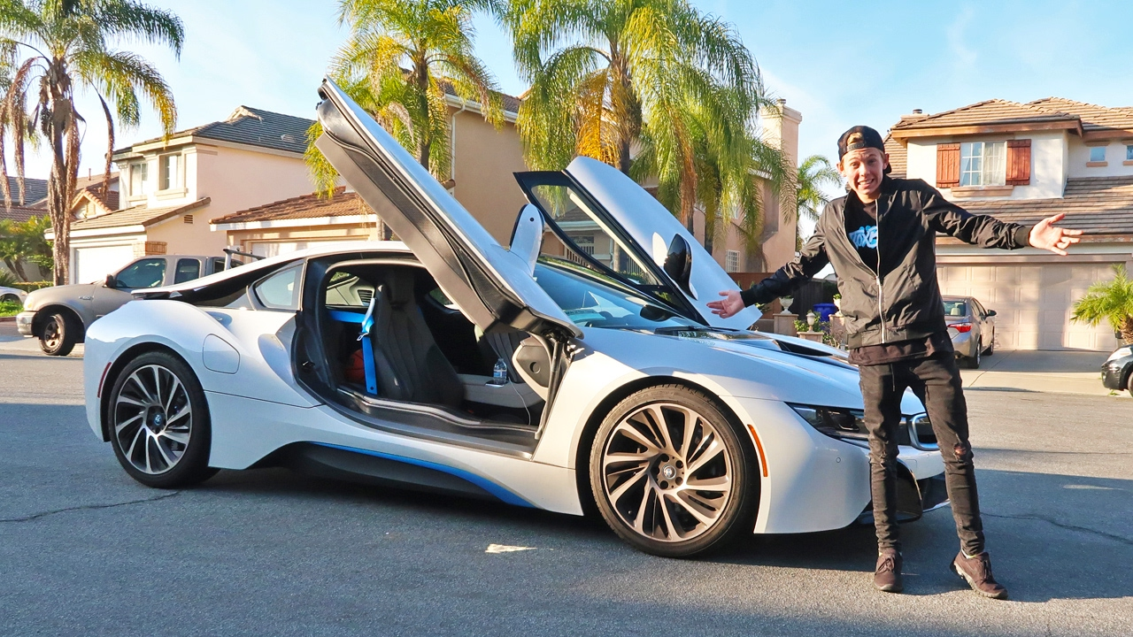 I Stole His Bmw I8 Youtube