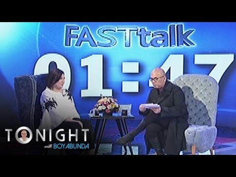 TWBA: Fast Talk with Sharon