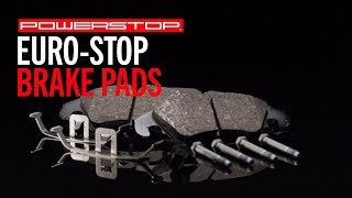 homepage tile video photo for Euro-Stop Brake Pads | PowerStop