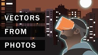 Create Vector Images from your Photos in Adobe Illustrator