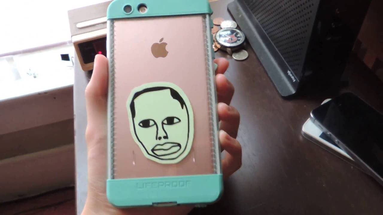 Iphone  Plus Rose Gold Lifeproof Case