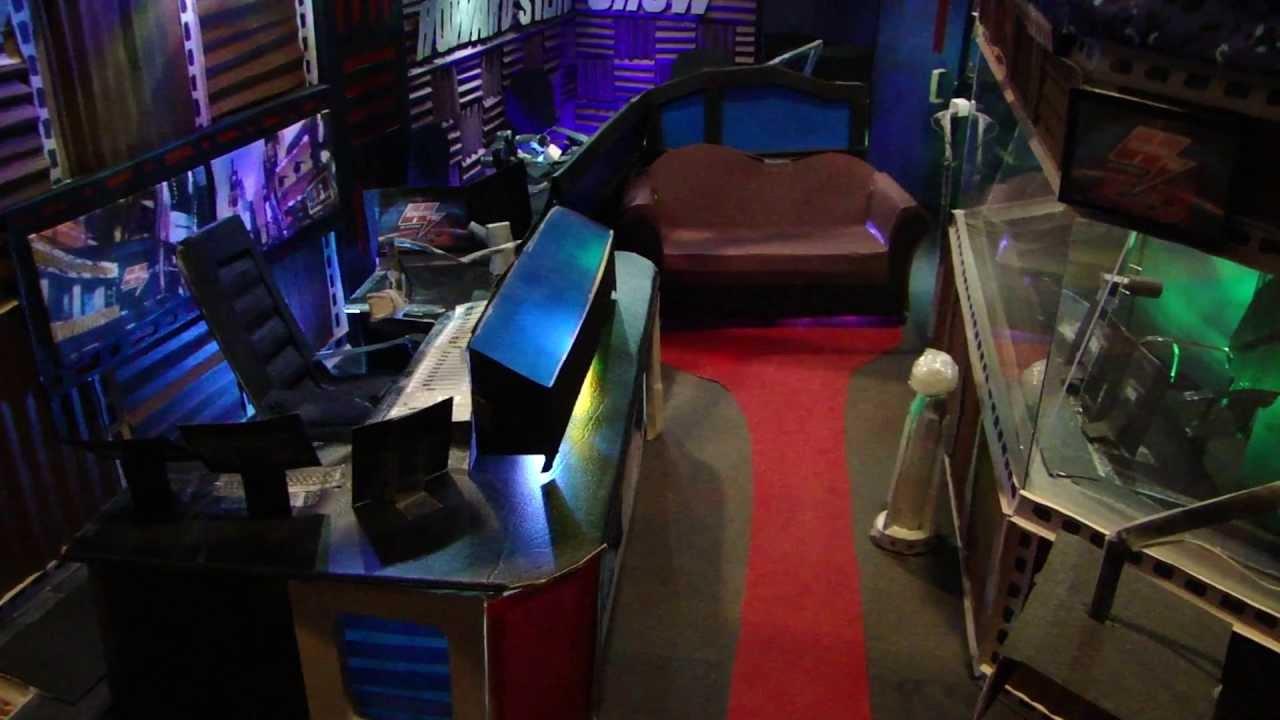 Howard Stern Show Studio Tour