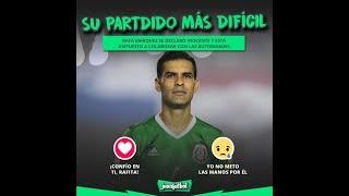 RAFA MARQUEZ JULION ALAVAREZ EL PARTIDO Y CONCIERTO MAS DIFICILES DE SU VIDA
