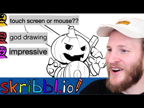 Professional ARTIST plays Skribbl.io - CHEATING?- Part 5