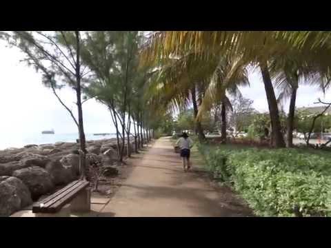 Bridgetown, Barbados - Walkway by the Princess Alice Highway HD (2015)