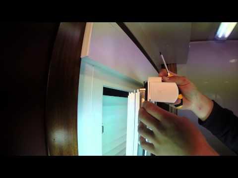 Soporte de estores a hoja de ventana | ¿Cómo montar un estor sin agujeros? | Estoresbaratos.com