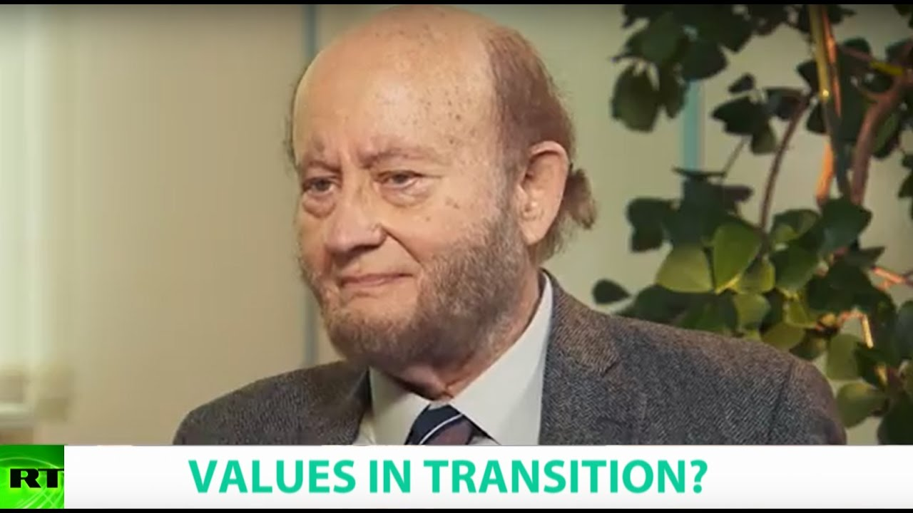 VALUES IN TRANSITION? Ft. Ronald Inglehart, Founding President of the World Values Survey