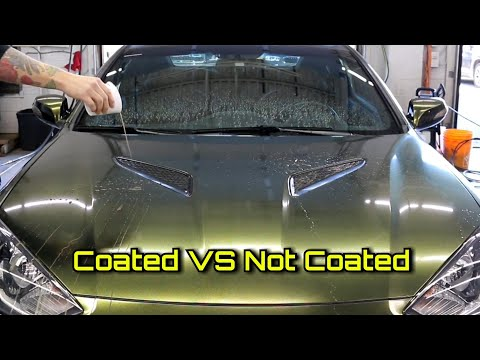 Does Ceramic Coating ACTUALLY Work?? MYTH VS TRUTH