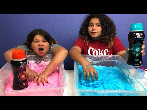 MAKING CLOUD SLIME WITH DOWNY UN STOPABLES