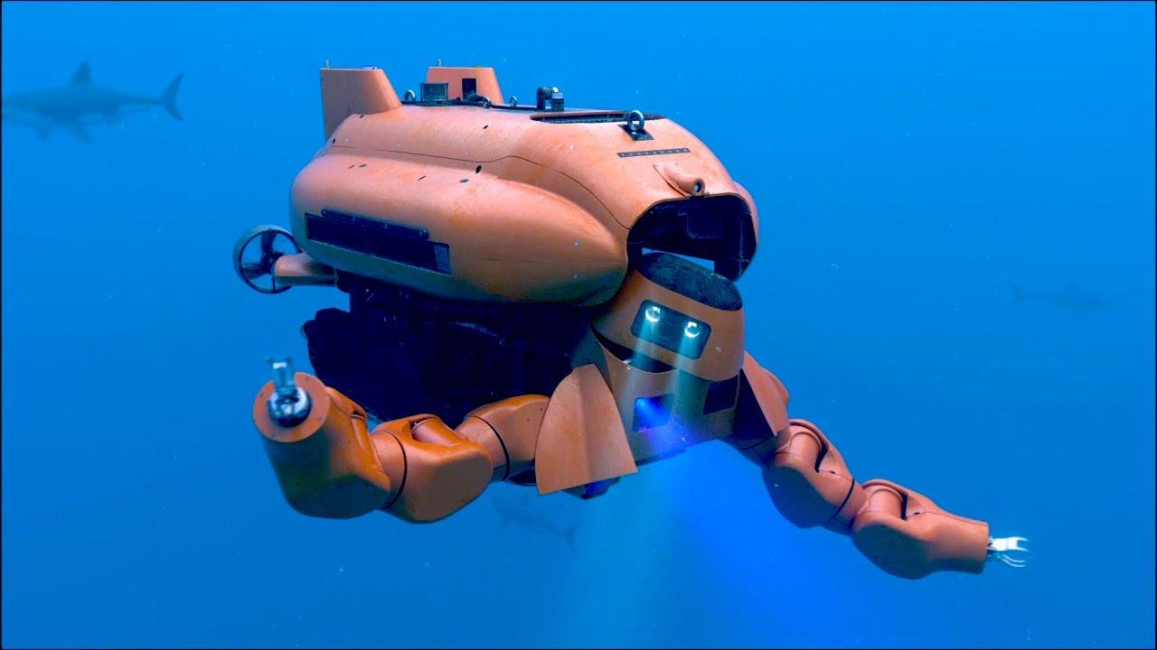 Most amazing underwater robots