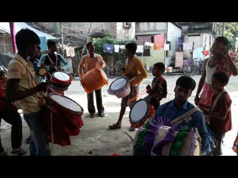 Dhak and dhol of parthapur By Sandipan Ghosh