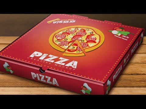 Pizza Box Mockup - YouTube