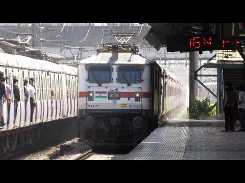 22109 MUMBAI LTT - HAZRAT NIZAMUDDIN AC EXPRESS - Indian Railways !!