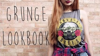 Grunge Inspired Lookbook