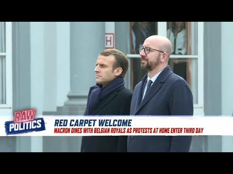 Macron visits Brussels amid 'yellow vest' protests in France | Raw Politics