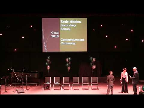 Mission Secondary's Graduation Ceremony 2018