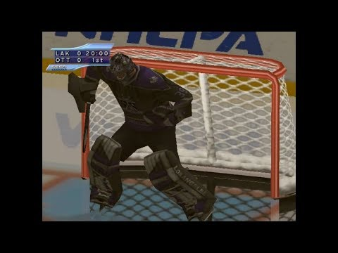 NHL 2k2 (SEGA DREAMCAST) LA Kings vs Ottawa Senators