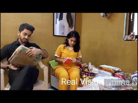 Zain Imam And Aditi Rathore Gifts segment part 1 Masti fans ❤exclusive with Real Vision Online News